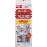 T S Shure Rubber Band Powered Rescue Flier Model Plane Kit