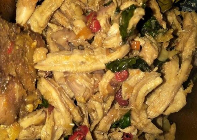 Cara Gampang Menyiapkan Ayam Suwir Kemangi yang Lezat