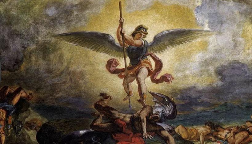 «Ταξιάρχη μου», φώναξε καθώς την πλησίαζε ο διάβολος!
