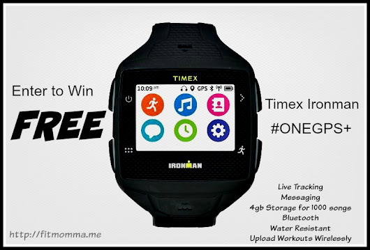 Timex Ironman One GPS+  Review & Giveaway!!