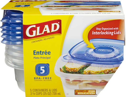 $0.50 Glad Food Storage Containers! |