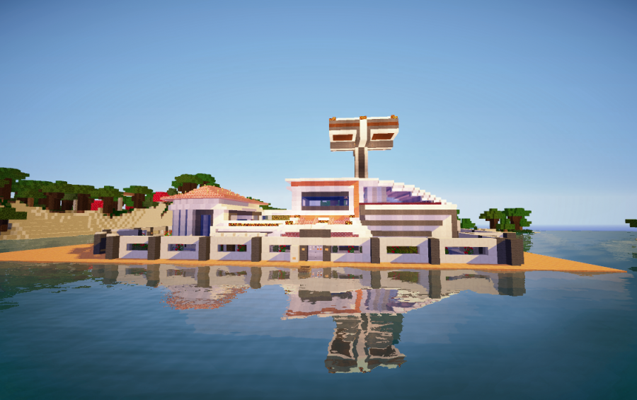 Minecraft Redstone Mansion - Nyepi a
