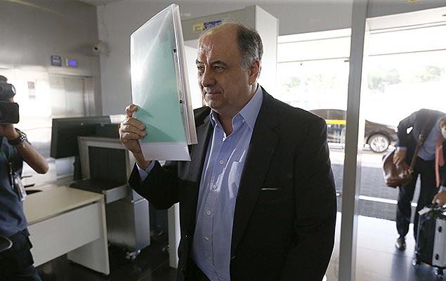 Hilberto Mascarenhas chega ao TSE, em Brasília; ex-executivo da Odebrecht será ouvido na ação que investiga a chapa Dilma-Temer