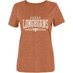 NCAA petiteNCAA Texas Longhorns Women's Short Sleeve V-Neck T-Shirt