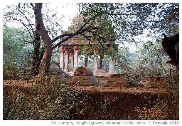 Mughal graves, Mehrauli, Delhi, India - S. Deepak, 2012