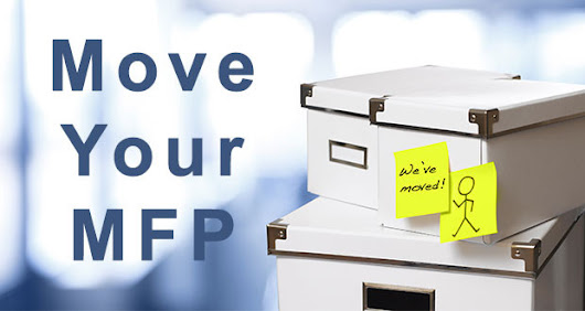 How to Move Your Office MFP