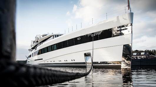 Feadship launches 93 metre superyacht Project 814