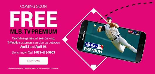 T-Mobile to Offer Free Season of MLB.TV Premium to Customers | Droid Life