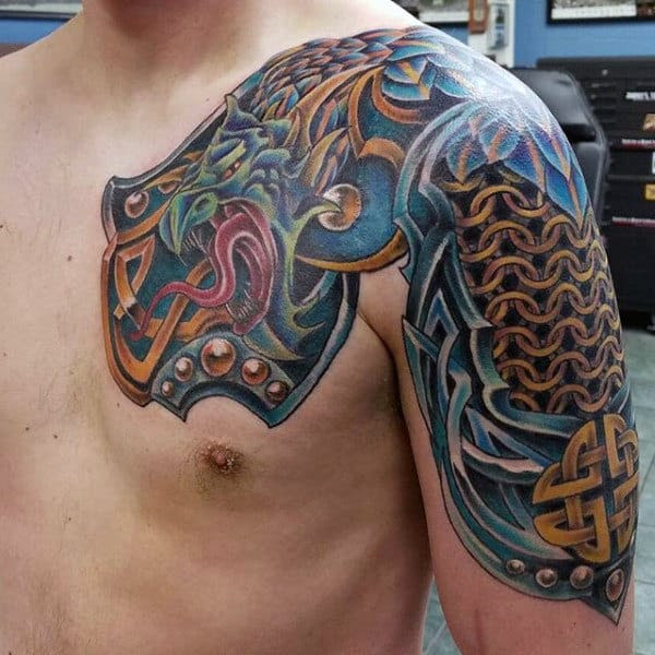 Top 100 Most Authentic Celtic Knot Tattoos [2020 ...