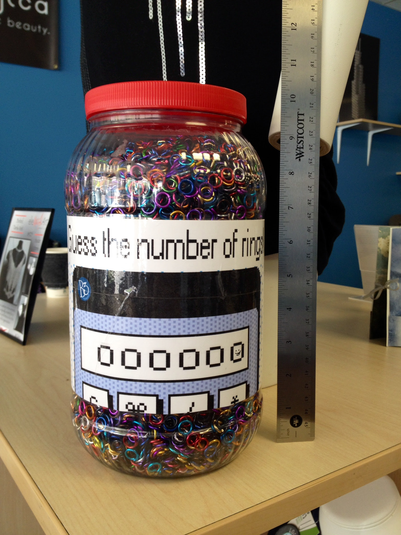 Contest Time Guess How Many Jump Rings Are In The Jar