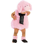 Halloween Baby Kids' Squiggly Pig Costume 9-12 Months, Women's, Size: 9-12M