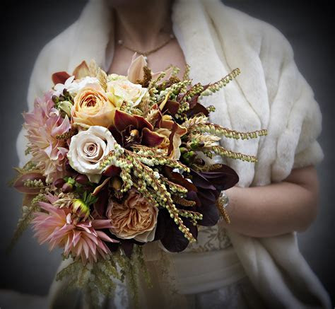 Fall Wedding Bouquet   Petalena: Creative Designs for
