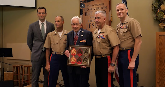 Marine vet finally promoted to sergeant 73 years later