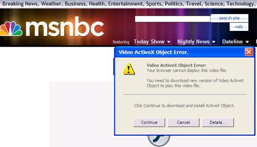 Fake MSNBC