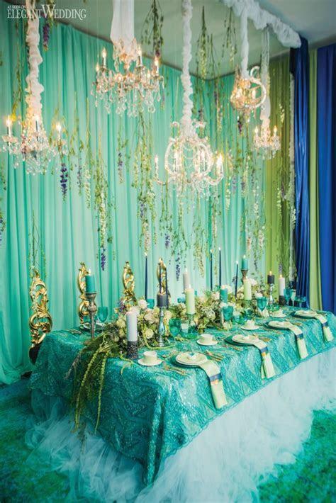UNDER THE SEA MERMAID INSPIRED WEDDING THEME   Elegant