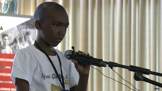 Africa's first Spelling Bee, Focus on Africa - BBC World Service