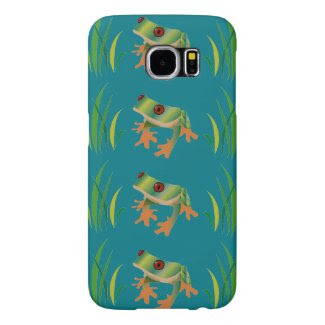 Tree Frogs on Samsung Galaxy S6 Barely There Case Samsung Galaxy S6 Cases