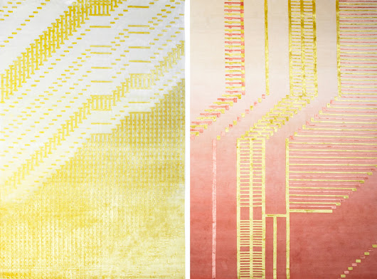 Rugs That are the Result of a Computer Glitch - Design Milk