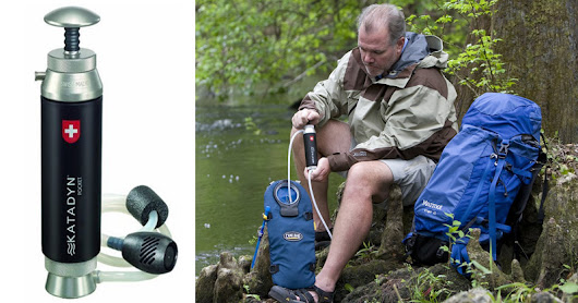 This Katadyn Pocket Water Filter Is A Wilderness Lifesaver