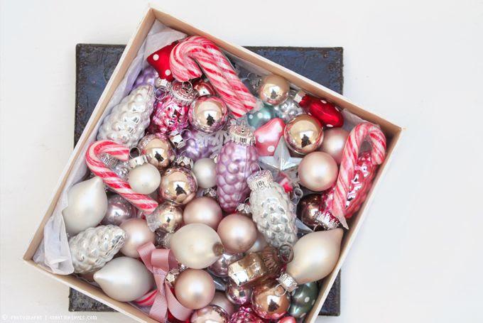 Weihnachtsvorfreude, Weihnachtskugeln, Deko