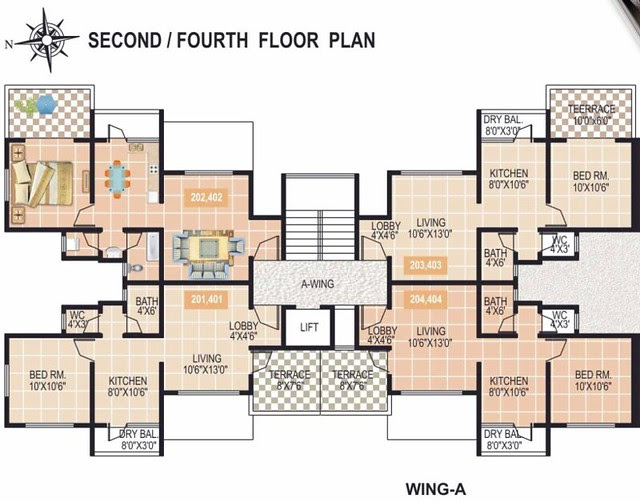 Gardenia_Sus_Gaon_A_Wing_2nd_&_4th_Floor