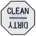 Fox Run Dishwasher Magnet - Clean/ Dirty