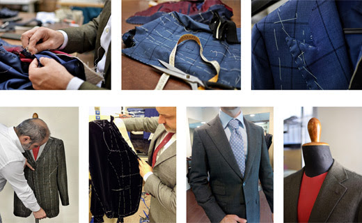 We proudly interpret the Italian tailoring fashion style