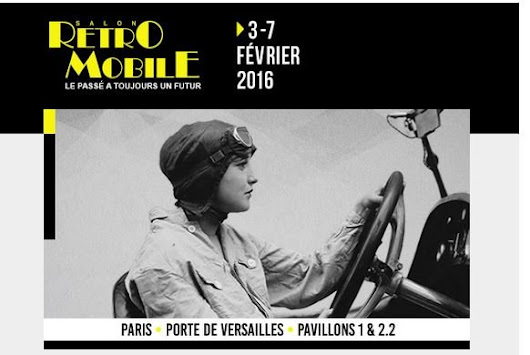 Rétromobile 2016 : go to the past ! - Le Blog de Mister-Auto