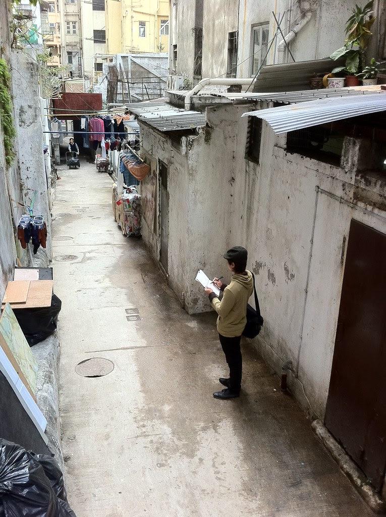 Sketchwalk 22/01/11, HK
