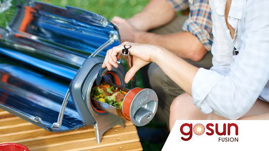GoSun Fusion: Cook Day and Night with Solar Energy