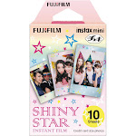 Fujifilm Instax Mini Shiny Star Film - 10 count