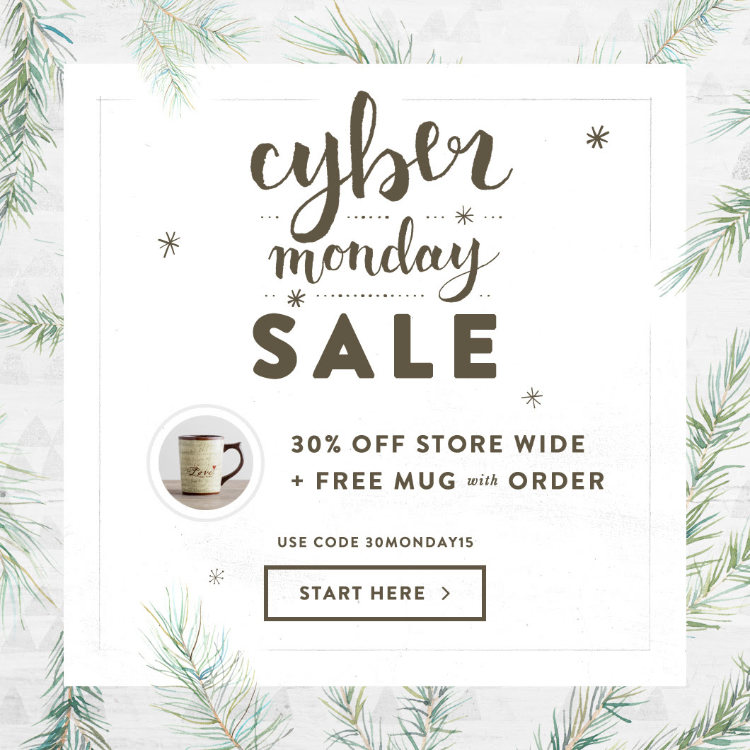 Cyber Monday Free Gift Banner