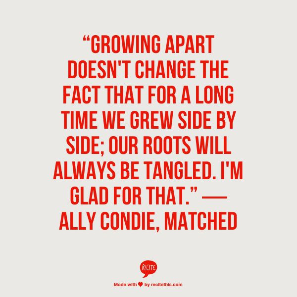 Quotes About Growing Apart Relationship 16 Quotes