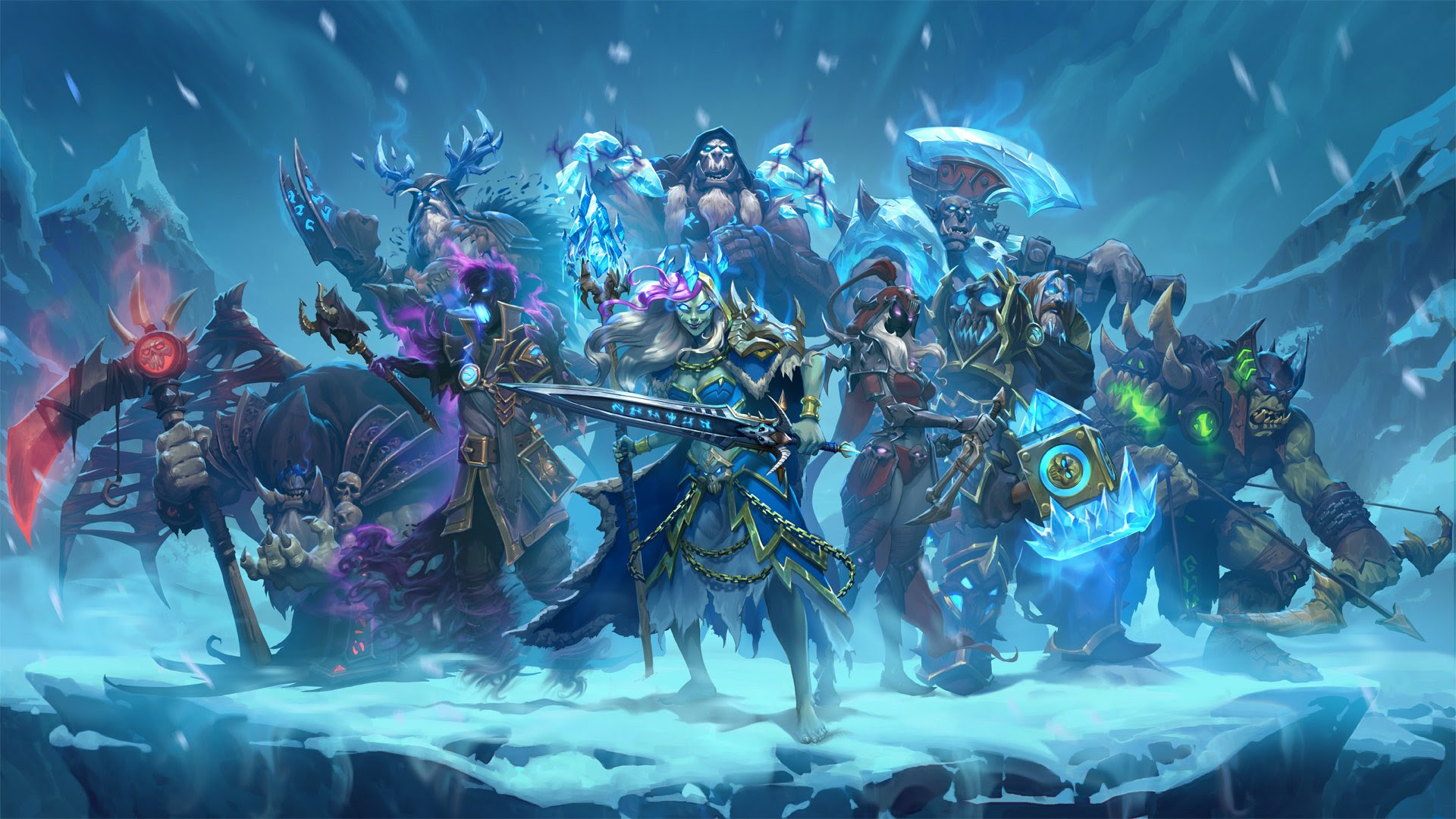 Hearthstone: Knights of the Frozen Throne brings out the Death Knights screenshot