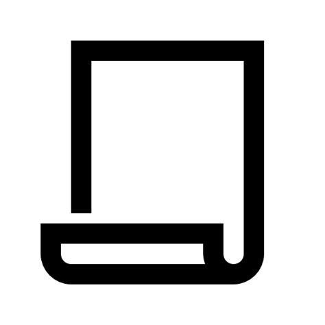 kertas ikon gratis  news  media icons