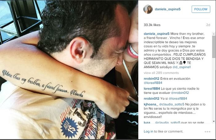 Daniela Ospina Sorprende Con Su Nuevo Tatuaje James Rodriguez El
