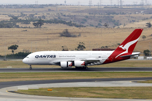 Qantas A380, Boeing 747 Collide at Los Angeles Airport - NBC News