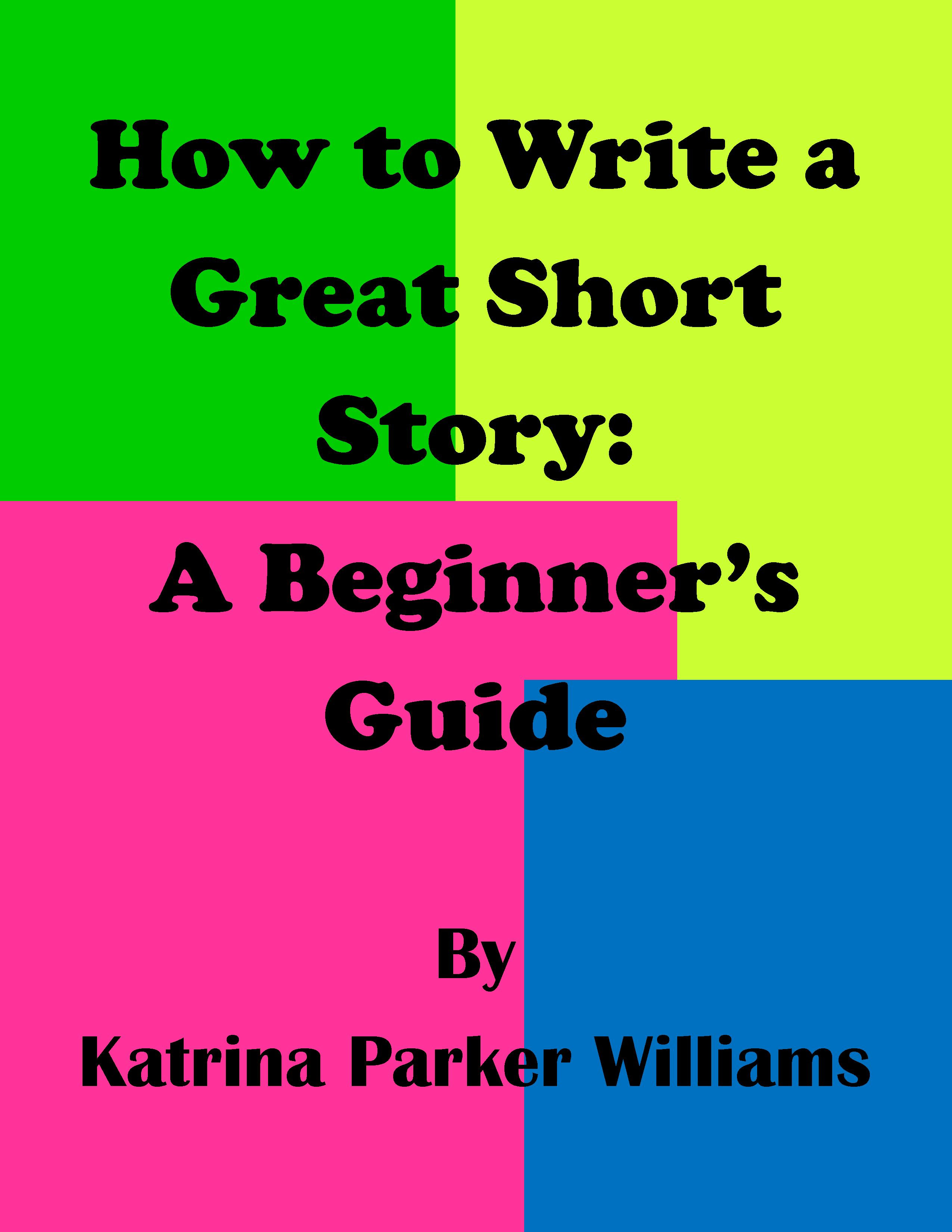 how to write a short story name in an essay
