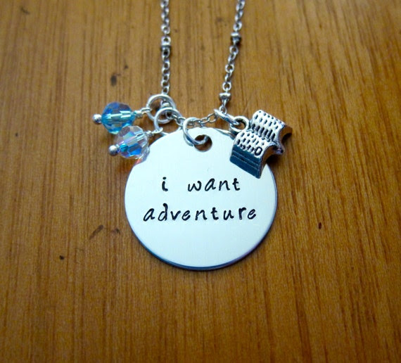 Beauty And The Beast Inspired Necklace Belle I Want Adventure