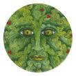 Greenman Holly Sticker