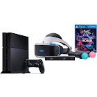 Sony PlayStation VR and PS4 Launch Bundle, White