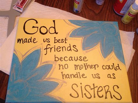 Best friend DIY canvas   College Ideas   Friend birthday