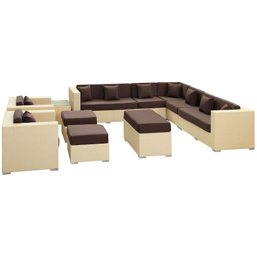 COHESION 11 PIECE SECTIONAL SET