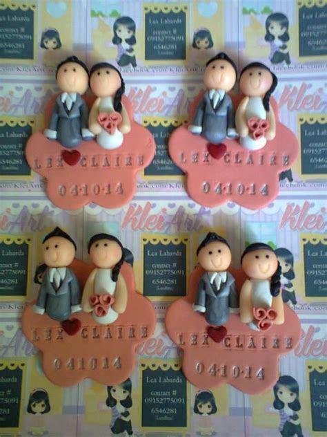 ref magnet design   Wedding Souvenirs   Polymer clay dolls