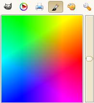 Aquarelli : Selettore di colore