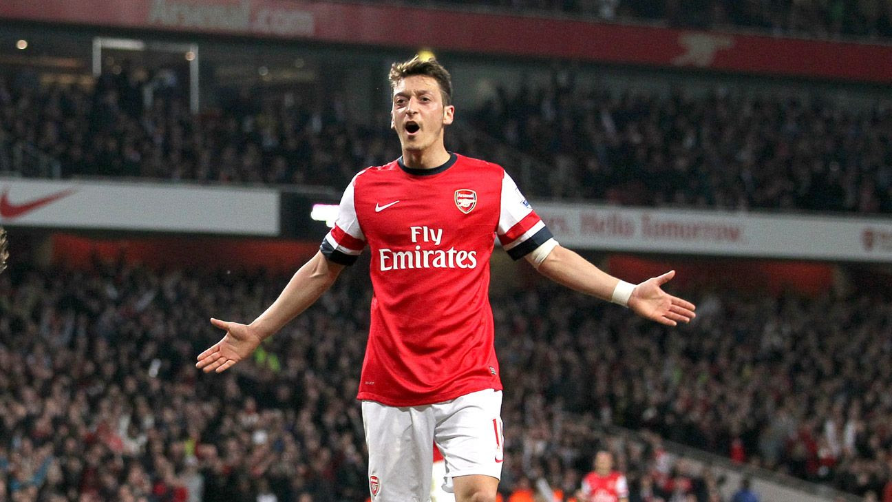 Head to Head: Mesut Ozil at Arsenal - ESPN FC