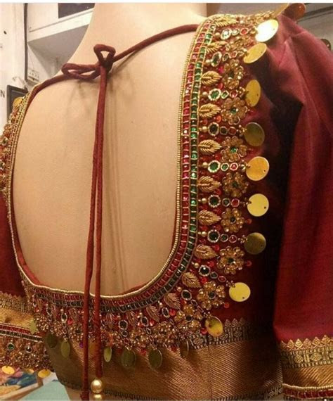 Aari Work Blouse Maggam Work Designs Bridal Blouse t