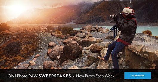 ON1 Launches the Photo RAW Sweepstakes