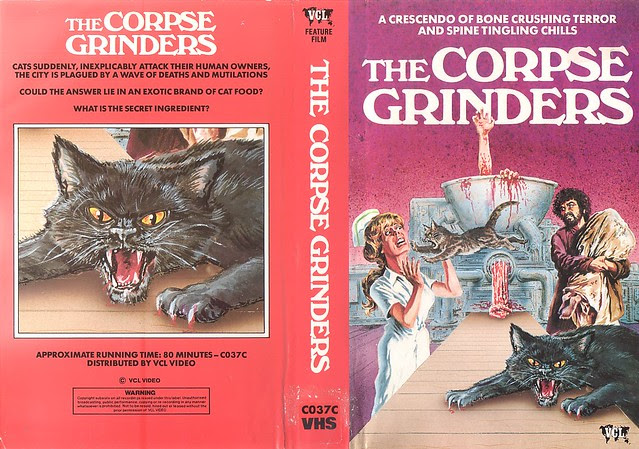THE CORPSE GRINDERS (VHS Box Art)