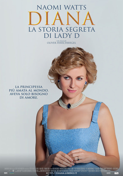 Locandina italiana Diana - La storia segreta di Lady D.